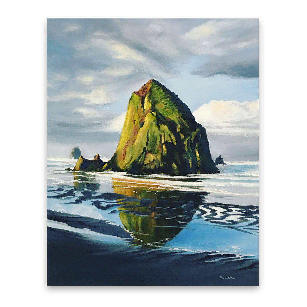 Haystack Rock | Oregon Coast Art Prints