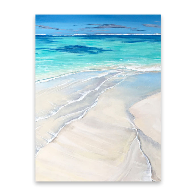 In the Clear | Tropical Ocean Art Prints
