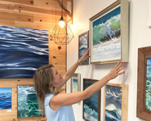 Ocean Art and Water Art, Prints and Originals Water paintings - Julie Kluh