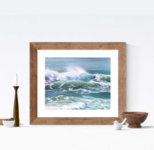 Ocean Decor Artwork Ocean Sea Print