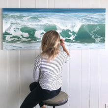 Believe | Large Horizontal Ocean Wave Art Print (Paper)