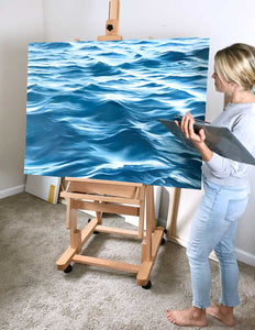 Ocean Painting Water Calming Artwork Prints Julie Kluh Art