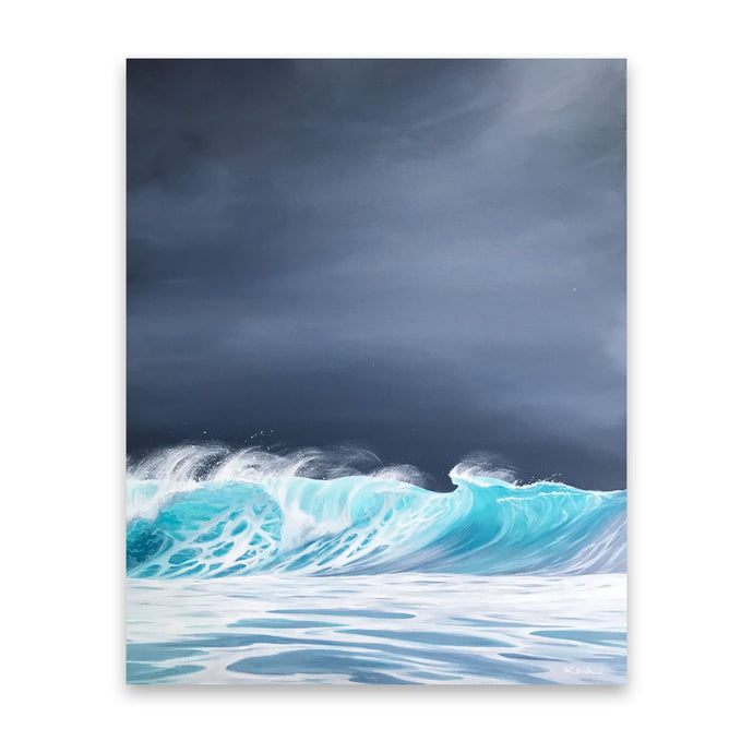 Storm Break | Tropical Ocean Art Prints