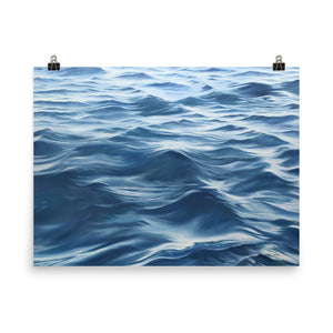 Ocean Painting Water Waves Artwork Prints Julie Kluh Art