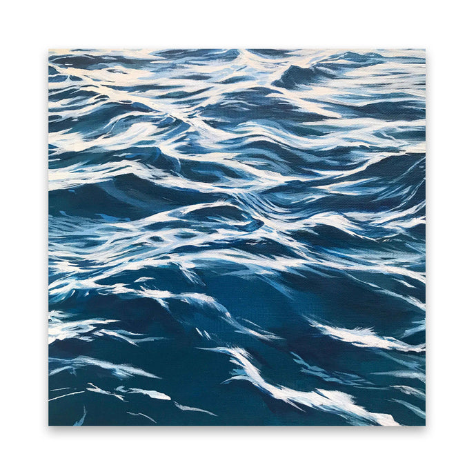 L'eau | Square Water Art Prints