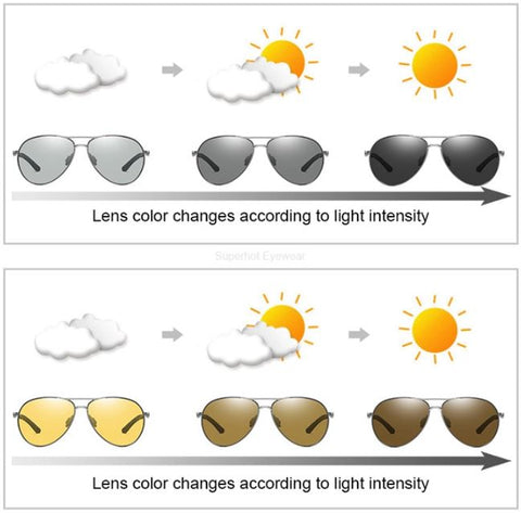Eaton - Polarized & Photochromic Driving Glasses, UNISEX SUNGLASSES,VisionPro Glasses - Best Eyeglasses and sunglasses