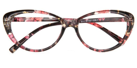 Cat Eye - Floral, WOMEN EYEGLASSES,VisionPro Glasses - Best Eyeglasses and sunglasses
