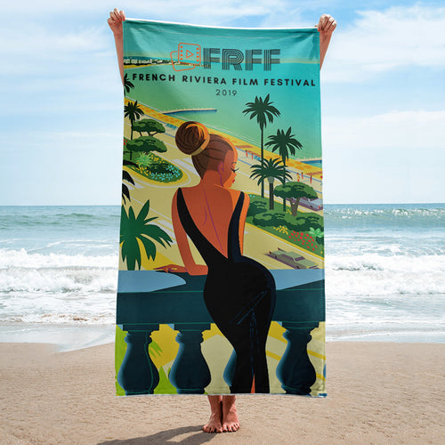 2019 FRFF Logo Beach Towel