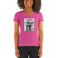 Load image into Gallery viewer, Bella + Canvas 8413 Ladies' Triblend Short Sleeve T-Shirt with Tear Away Label
