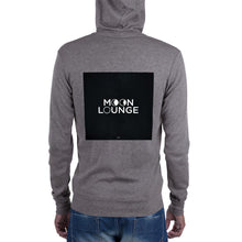 Load image into Gallery viewer, Unisex zip hoodie Logo on Back