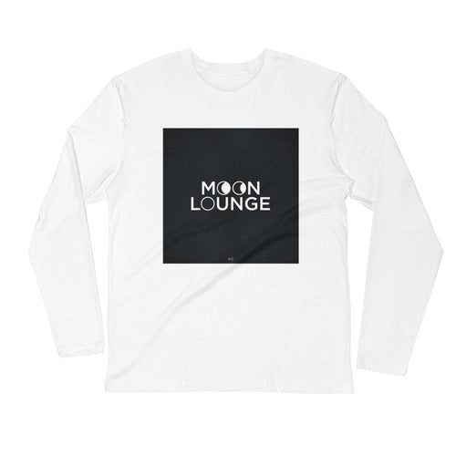 Moon Lounge Long Sleeve Fitted Crew