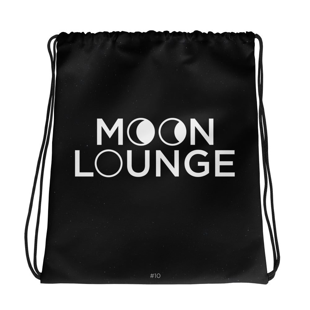 Moon Lounge Drawstring bag