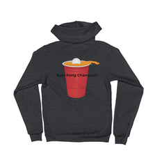 Load image into Gallery viewer, Unisex Fleece front Zip Hoodie