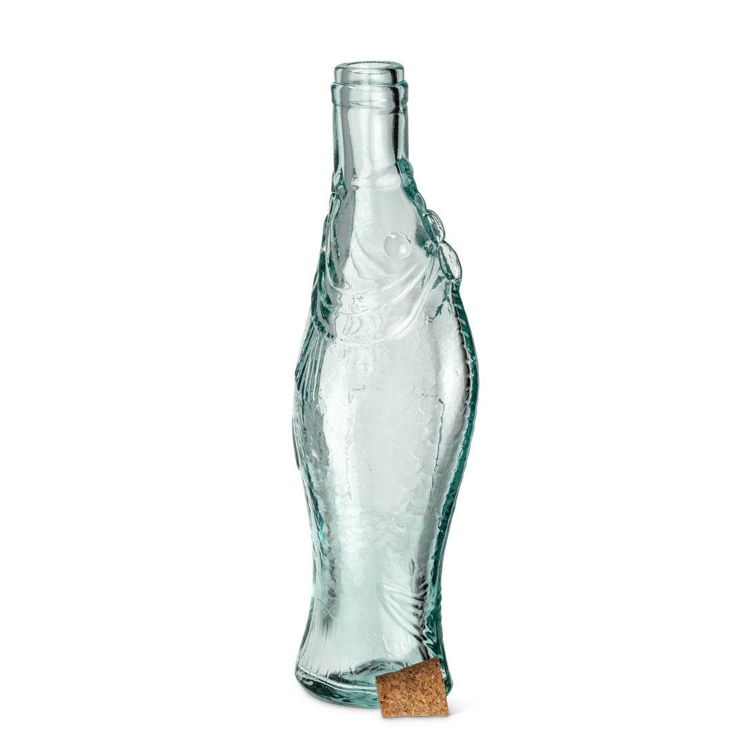 Fish Shaped Bottle with Cork