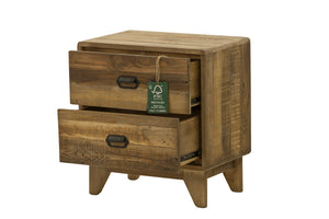 Campestre Modern 2 Drw Nightstand - Sheen Finish