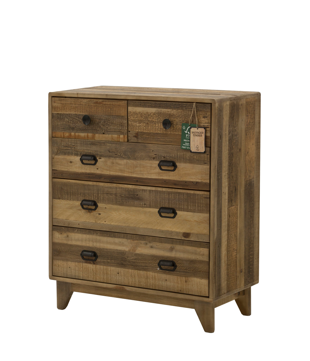 Campestre Modern 5 Drw Chest - Sheen Finish