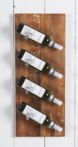 D-Bodhi Wall Wine Rack, 4 Bottles