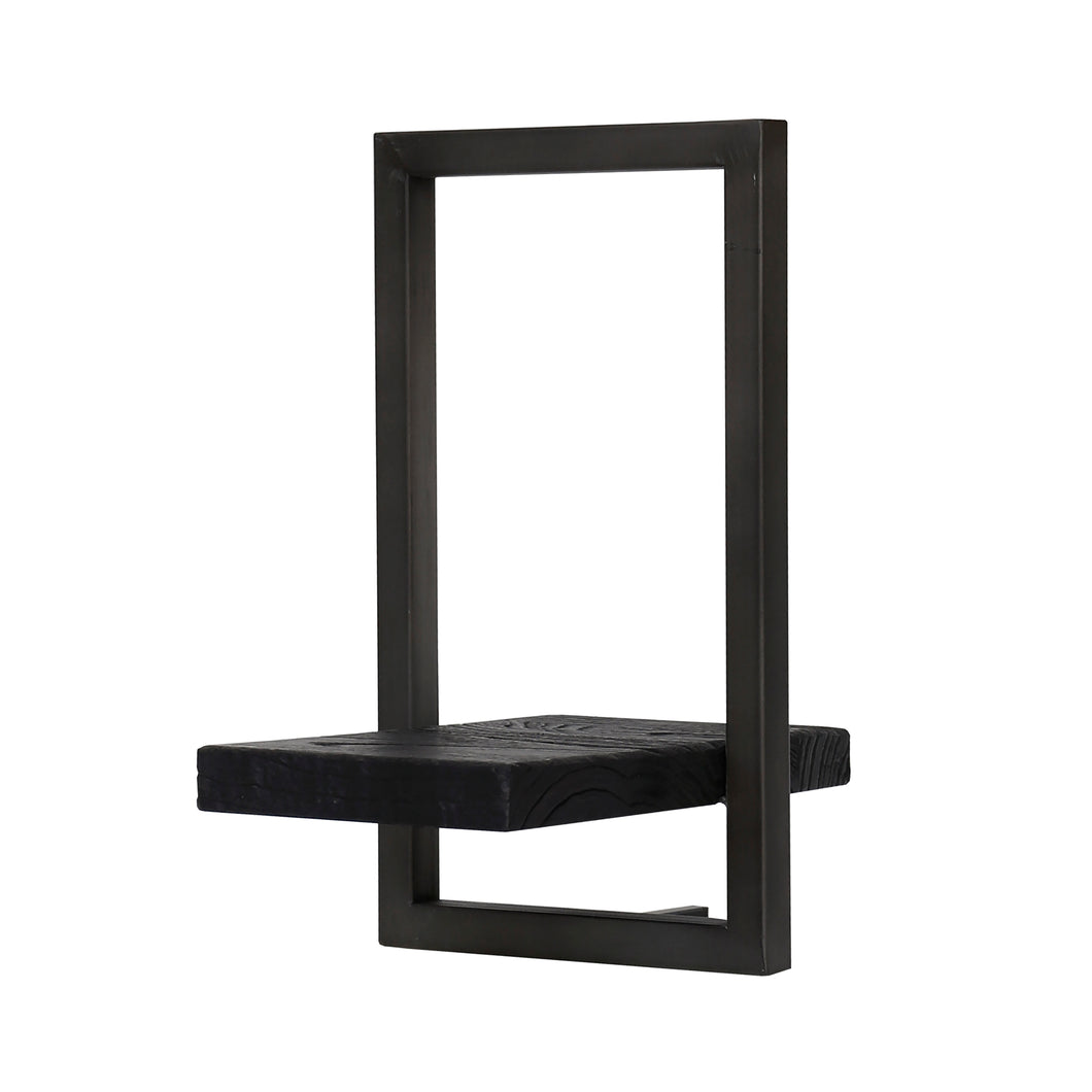 D-Bodhi Metal Frame Wall Box - Black, Type E (1/box)