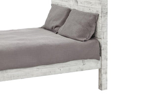 Malibu Queen Bed- Rustic White