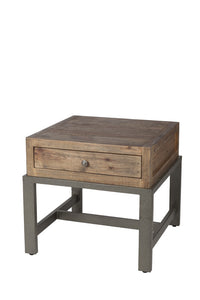 Santa Fe Side Table - Rustic Taupe