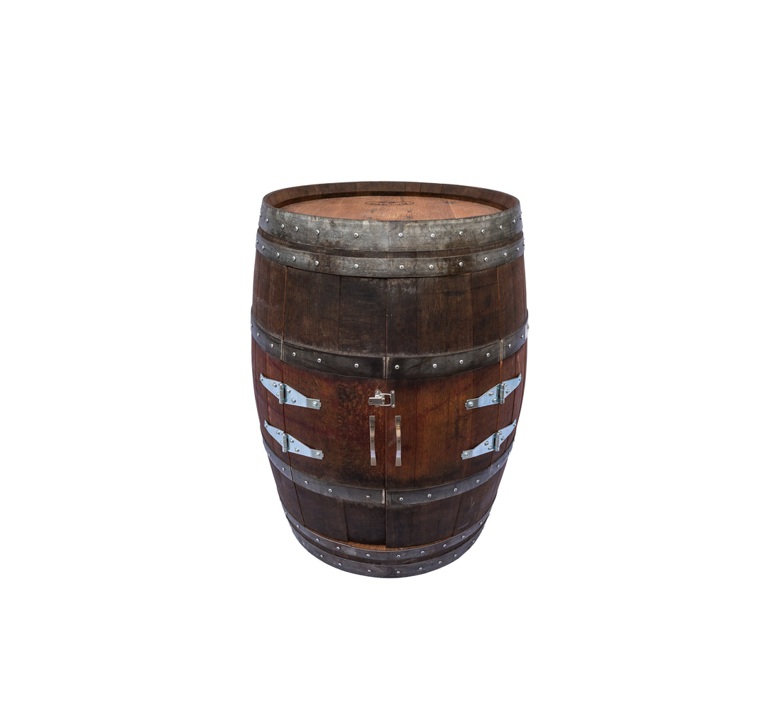 Barrel Wine Cabinet