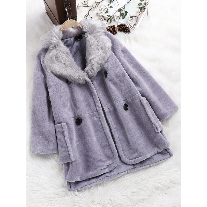 Fleece Long Sleeve Vintage Coats