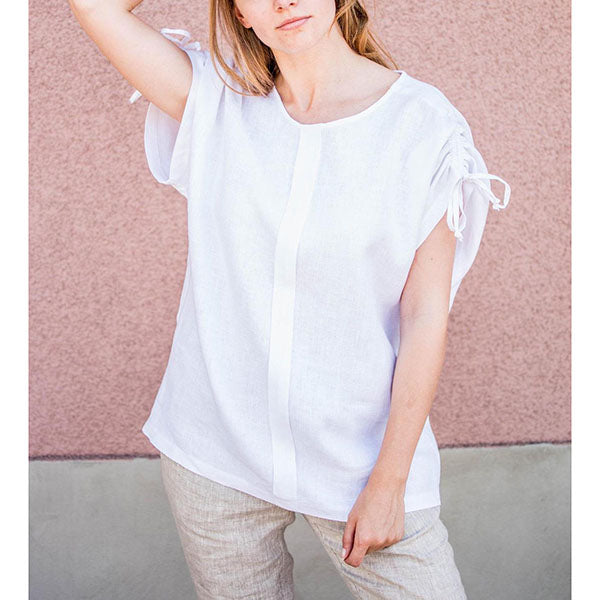 Casual Round Neck Loose Blouse