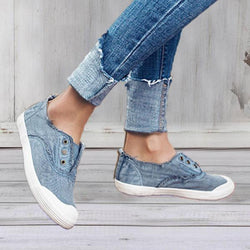 Buckle Flat Heel All Season Casual Flats