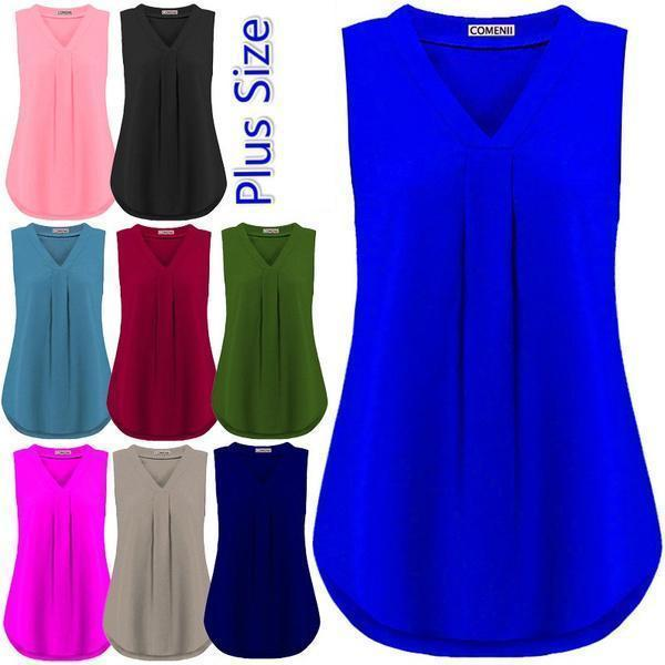 Summer Women's Fashion Casual Sleeveless Tank Tops
