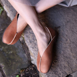 Vintage Simple Slip-On Flat Shoes