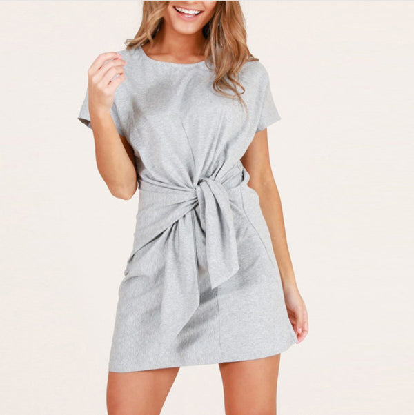 Women's Elegant Sexy Plain Mini Dress
