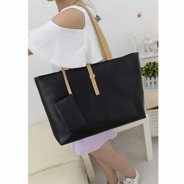 Elegant  High Capacity Leisure Shopping Casual Handbag