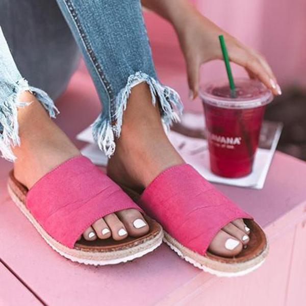 Bohemian Casual Flat Slippers