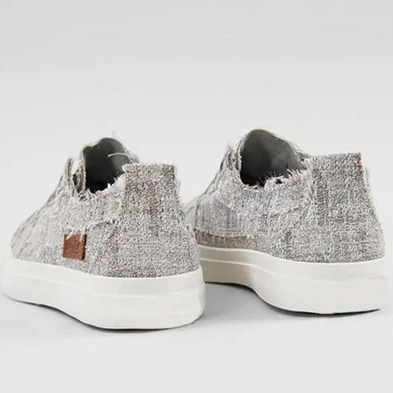 Women's Shoes in Silver Glam Weave