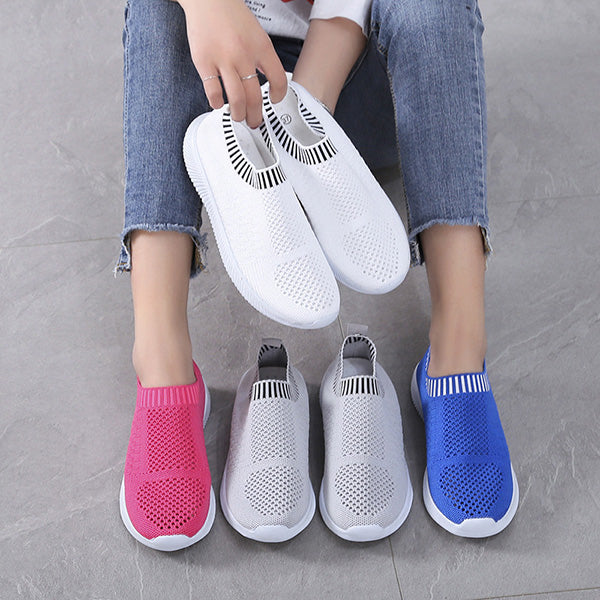 Women Slip-On Comfortable Breathable Sneakers