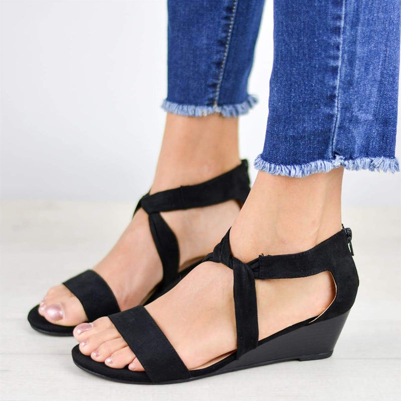 Casual Strap Wedge sandals
