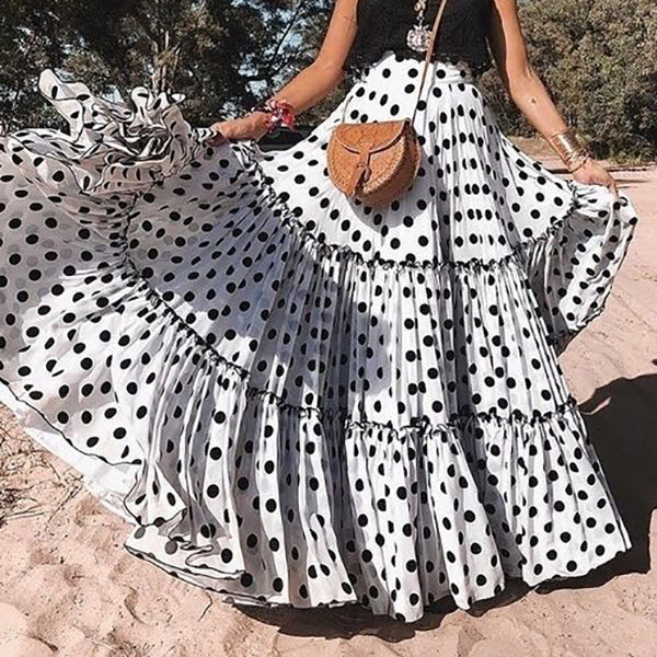 Bohemian Women Polka dot Fashion Dresses