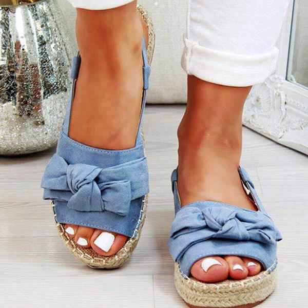 Summer Thick-Soled Buckled Sandals for Women