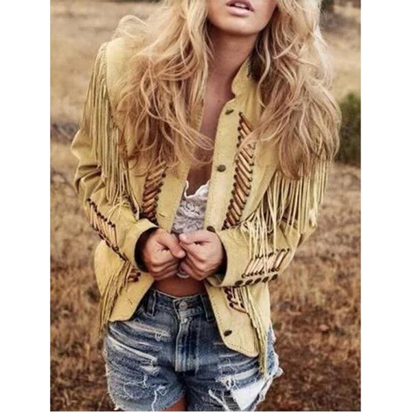 Women's Tribe Fringe Jacket