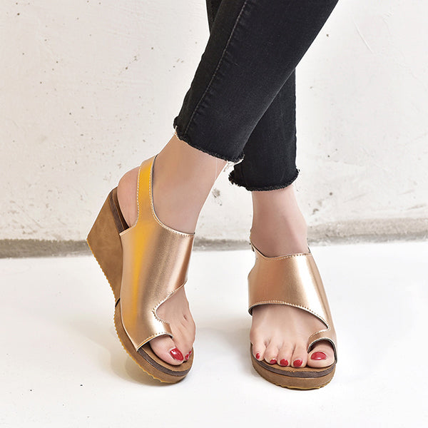 Casual Daily Vacation Wedge Sandals