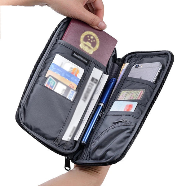Travel Ticket Cash Card Storage Bag