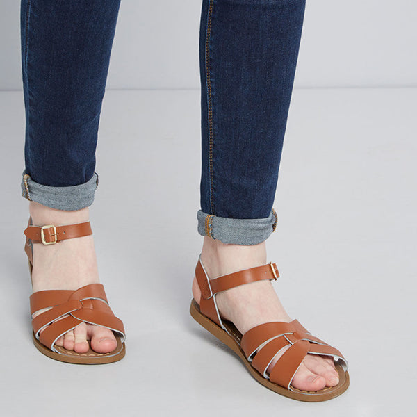 Fashion Cross Band Flat Sandals
