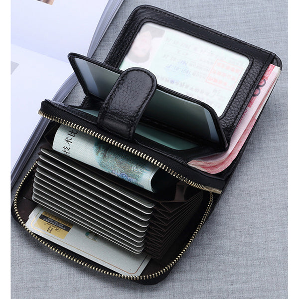 Multi-function Zipper Wallet Card Bags
