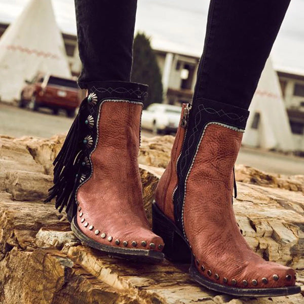 Vintage Point Toe Daily Boots