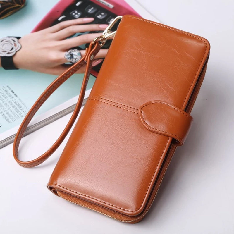 Women Handbag Zipper Wallet