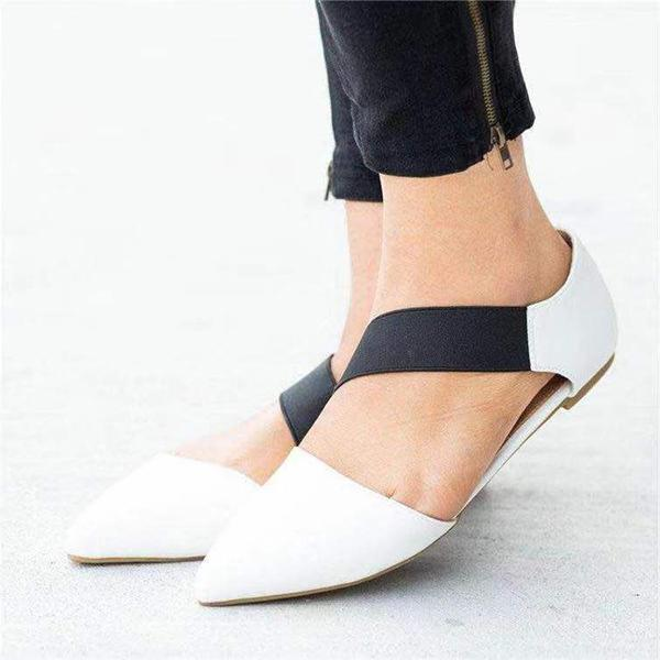Women Casual Daily Pointed Flat Shoes