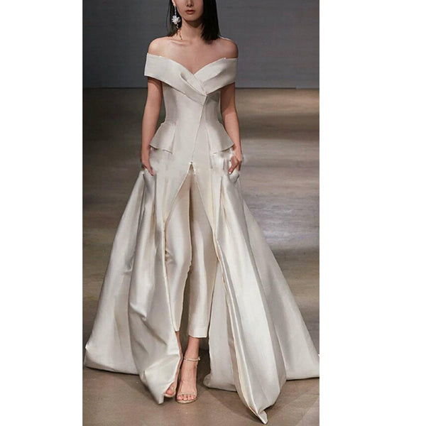 Chic Sexy Women Wedding Evening Dress