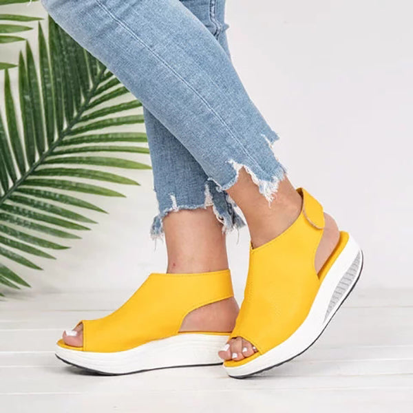 Casual Wedge Fish Toe Sandals