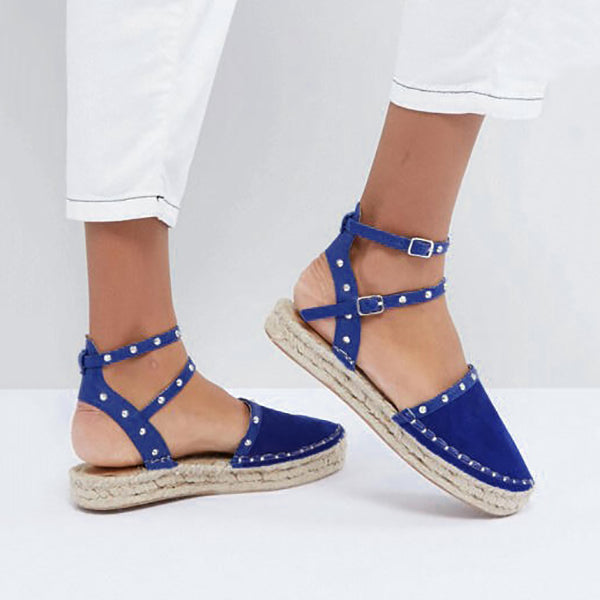 Casual Round Toe Platform Sandals