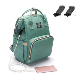 Women Ultimate USB Charger Diaper Bags